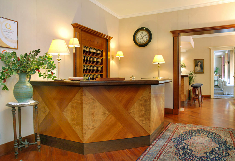 Hotel Moderno in Premeno, Rezeption